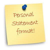 How to Write a Personal Statement for a Job Application